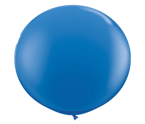 "36"" dark blue latex balloon"