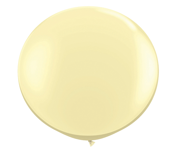 "36"" ivory latex balloon"
