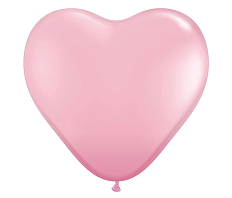 "36"" Pink Heart Shaped Latex Balloon"