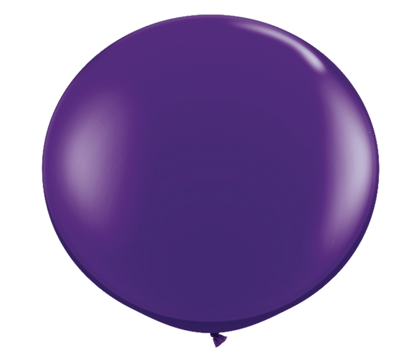 "36"" Quartz Purple Latex Balloon"