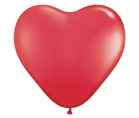 "36"" Red Heart Shaped Latex Balloon"
