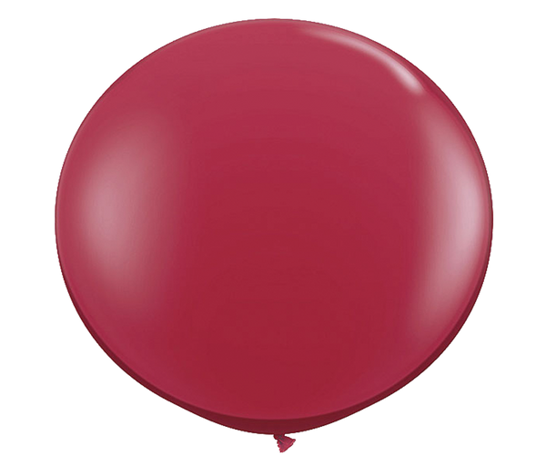"36"" Ruby Red Latex Balloon"