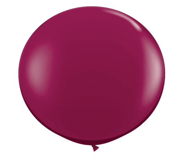 "36"" Sparkling Burgundy Latex Balloon"