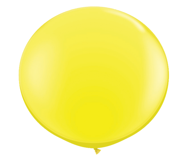 "36"" Yellow Latex Balloon"