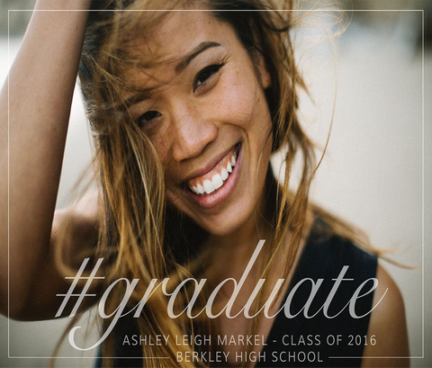 #Graduate - Graduation Announcement