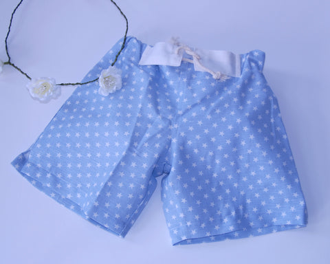 Blue Star Shorts