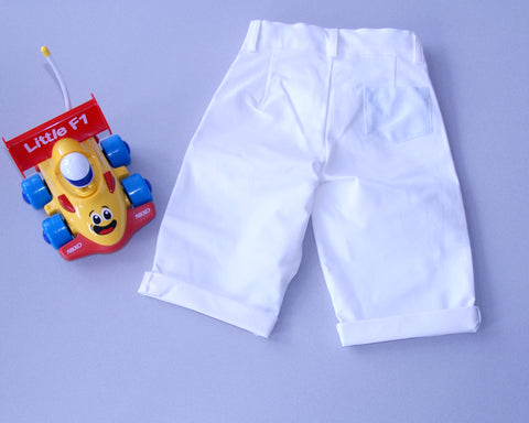 Blue Pocket Short
