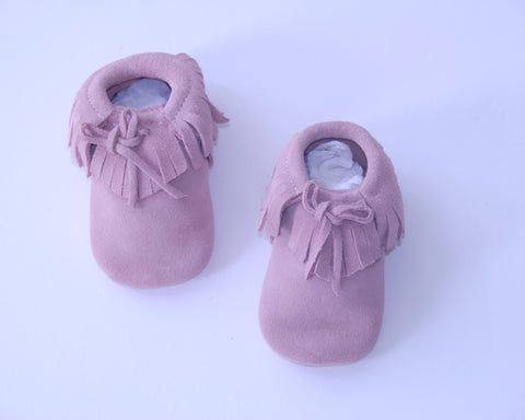 Apache Slippers Pink