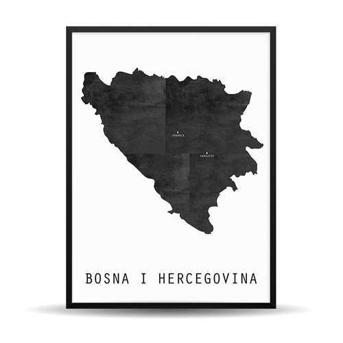 The Map Rustic (BiH) - (Vaš Grad Na Karti)