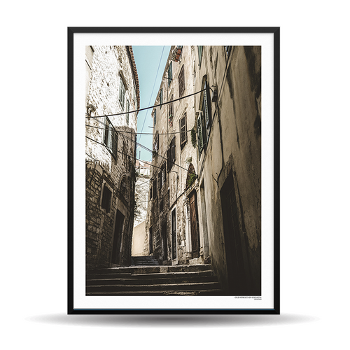x Designio PhotoWall (HR) - Old Streets Of Croatia
