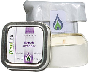 French Lavender Massage Candle, Travel Size (2 fl oz)