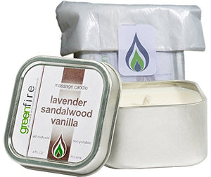 Lavender Sandalwood Vanilla Massage Candle (4 fl oz)