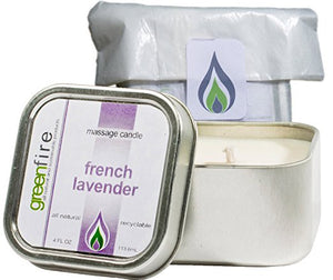 French Lavender Massage Candle (4 fl oz)