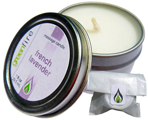 French Lavender Massage Candle, Travel Size (1 fl oz)