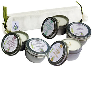 Massage Candle Gift Set (pack of 5 x 1 ounce candles)
