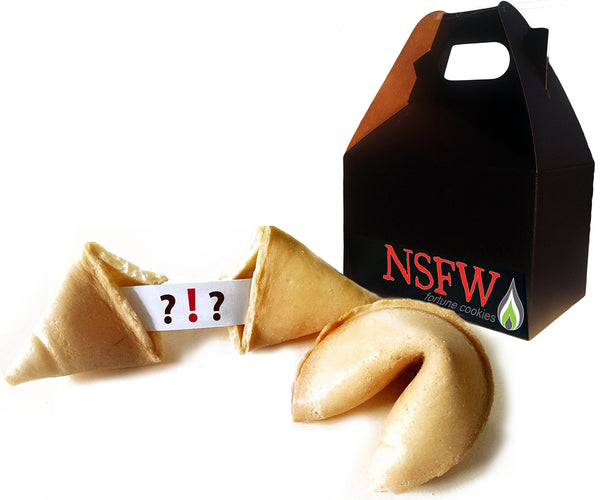 NSFW Fortune Cookies ™: Inappropriate Edition (Explicit Content) Gift Box