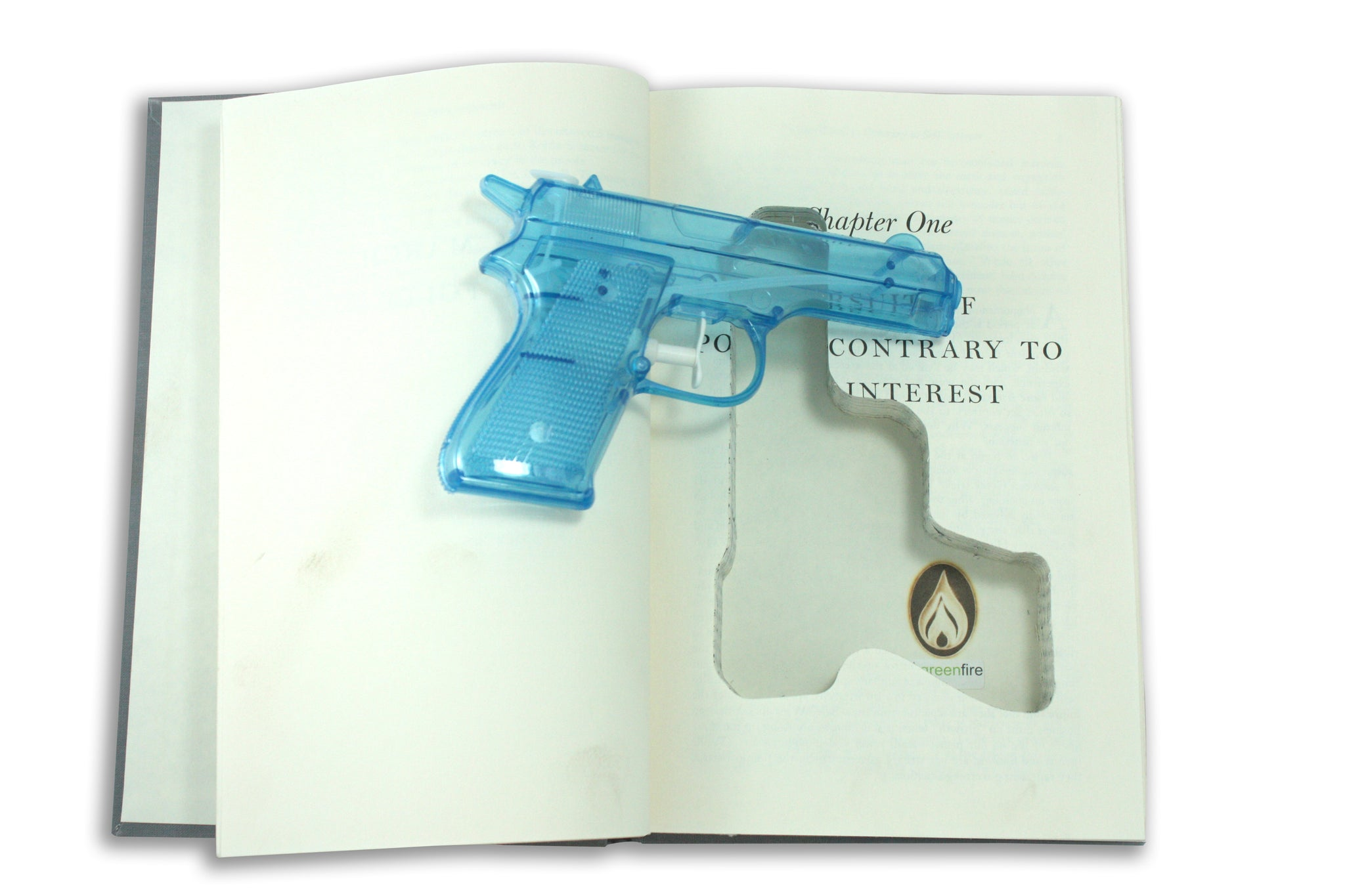 SneakyBooks Hidden Squirt Gun Book