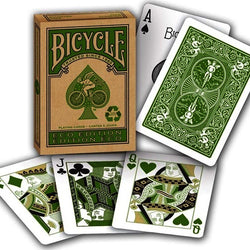 Eco-Friendly Playing Cards, 100% Recyclable
