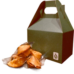 Greenfire Kid Friendly SFW Fortune Cookies Gift Box
