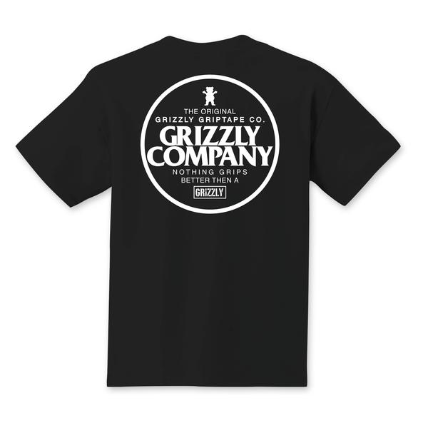 Grizzly Griptape Grip Better Tee Black