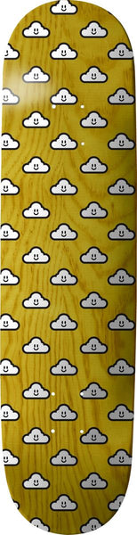 Thank You Good Clouds Woodgrain Deck