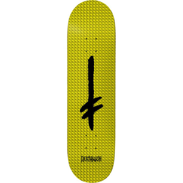 DEATHWISH Credo Yellow Hollow Foil Deck 8.25