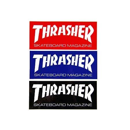 THRASHER Skate Mag Sticker (Super)