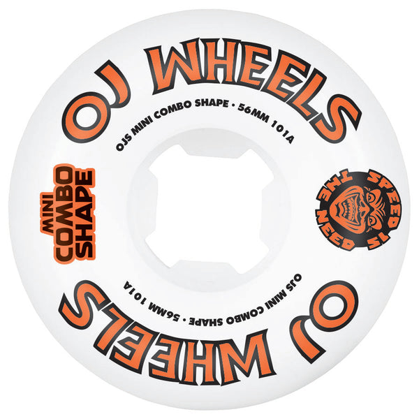 OJ 56mm Team Line Original Mini Combo 101a  Skateboard Wheels