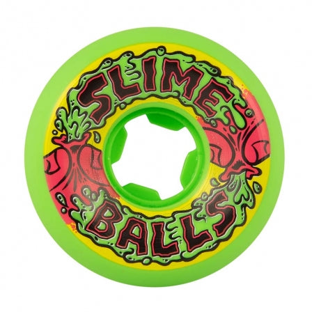 Slime Balls 56mm Squirt Balls Artist Series Vomit Mini Neon Green 97a Skateboard Wheels