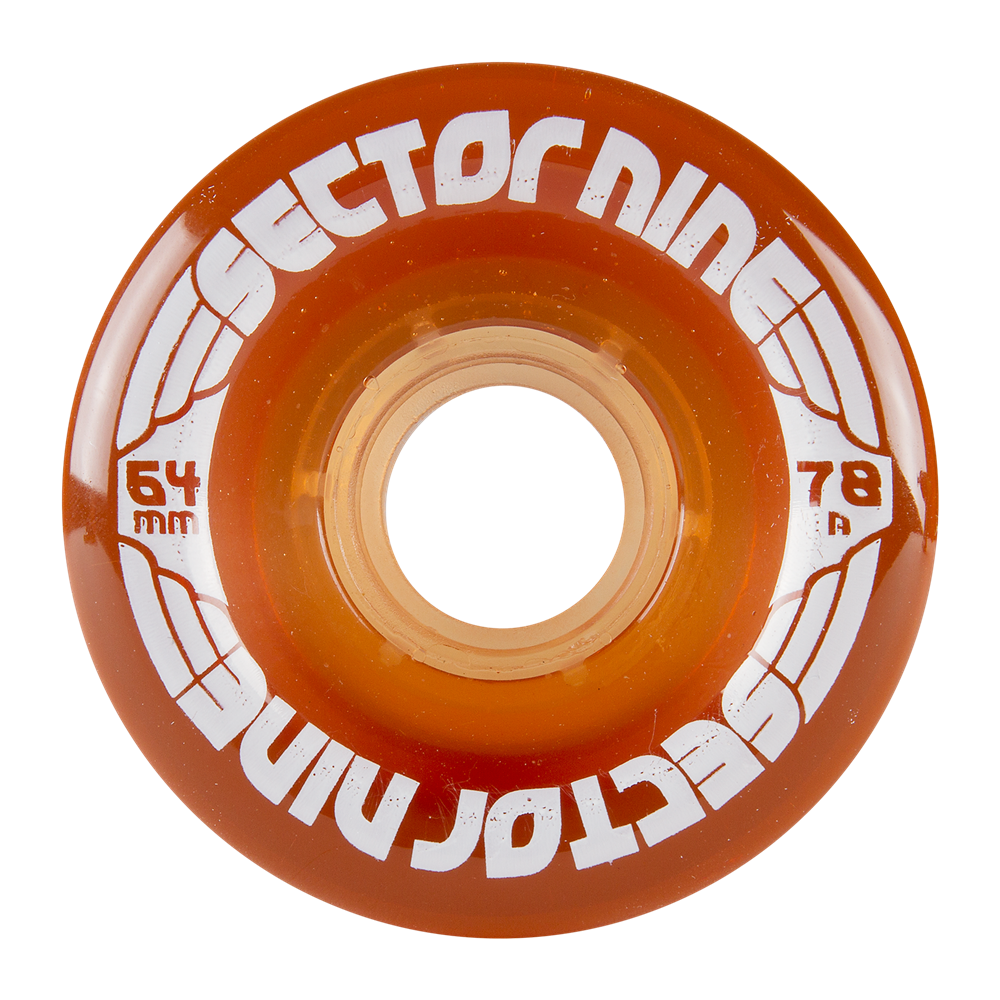 Sector 9 64MM 78A NINEBALLS - LIGHT BROWN (SET OF 4)