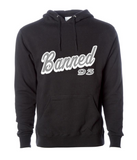 BANNED SCRIPT Pullover Hoody