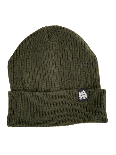 BANNED Yarn & Fleece Olive Beanie