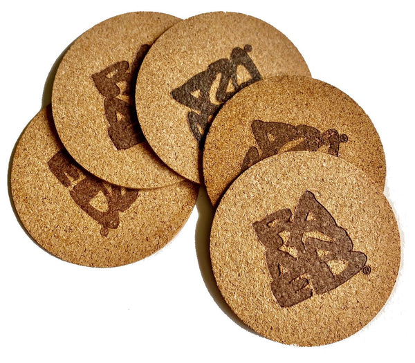 BANNED® Cork Coaster