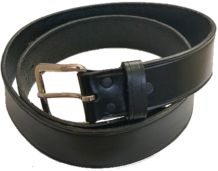 California Fireman Real Leather Belt