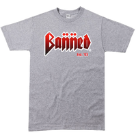 BANNED METAL Front SS T-Shirt
