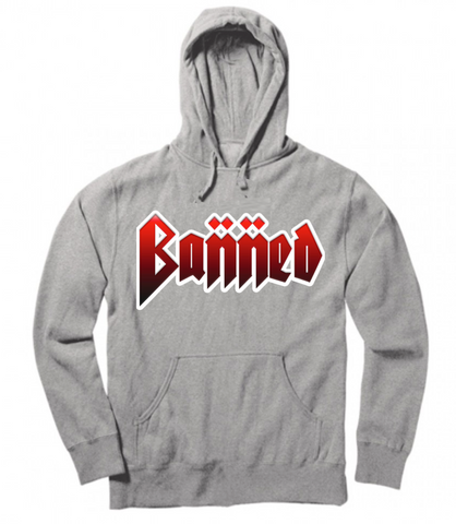 BANNED METAL Pullover Hoody