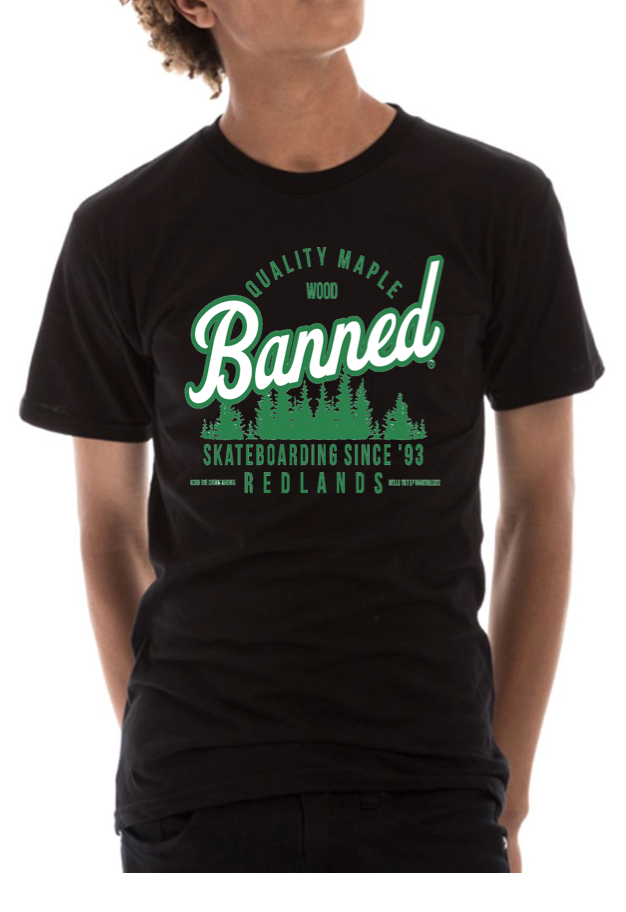 Banned TREES ALL RIGHT S/S T-Shirt