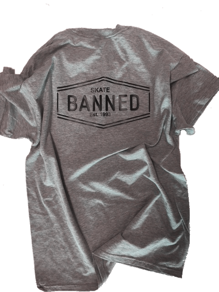 BANNED Skate Pocket T-Shirt SERIES