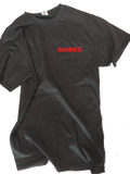 BANNED SLANT POCKET T-SHIRT SERIES