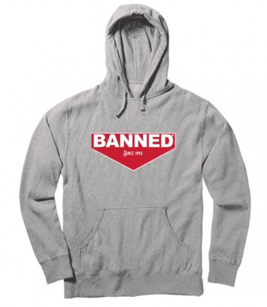 BANNED Brass Pullover Hoody