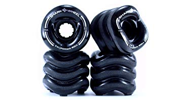 Shark Wheel 70MM, 78A BLACK SIDEWINDER