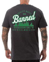BANNED The Trees Are All Right  S/S   POCKET T-Shirt SERIES