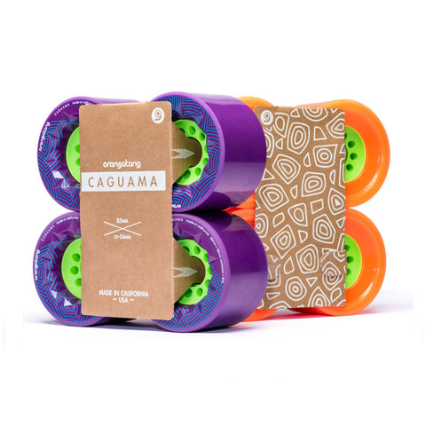 Orangatang Caguama 85mm Longboard Wheels