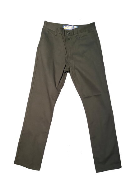 BANNED® Smoking Gun Chino Pants Black