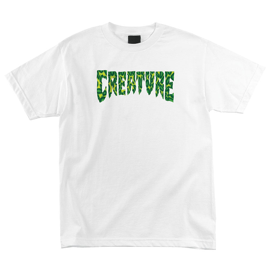 CREATURE Strains Regular S/S Creature Mens T-Shirt White