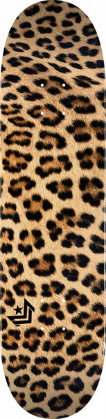 "MINI LOGO LEOPARD FUR ""18"" SKATEBOARD DECK 291 K20 7.75 X 31.08"