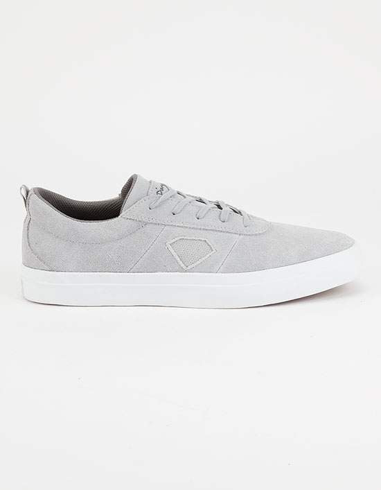 Diamond Icon Shoes - Grey
