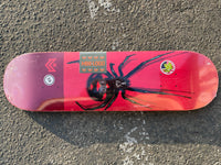 MINI LOGO POISON SKATEBOARD DECK Black Widow
