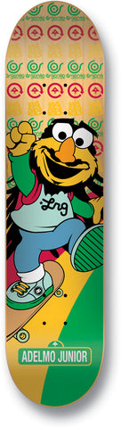 "BANNED  Tickle Me Adelmo Deck 7.6""  VERY Rare and Limited"