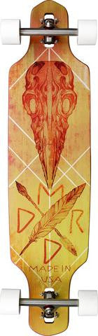 "Madrid Shield Crow Drop- Thru 39"" Longboard"
